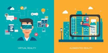 AR vs VR info graphic