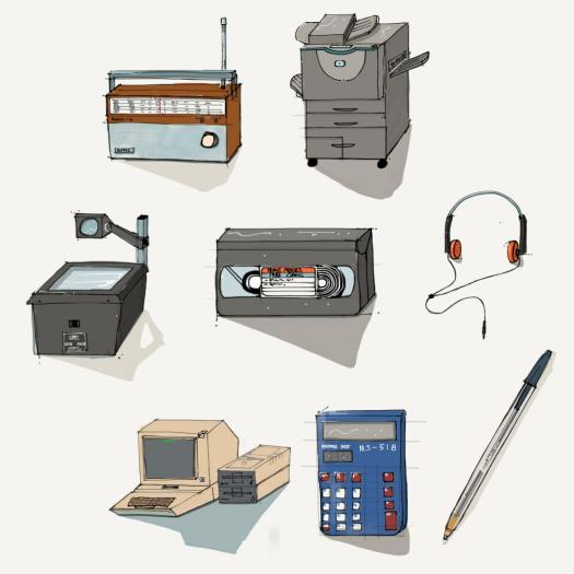 History of Educational Technology Tools