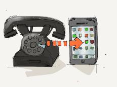 Rotary to Smartphone